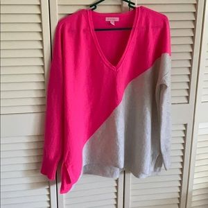 Lilly Pulitzer cashmere sweater size L/XL